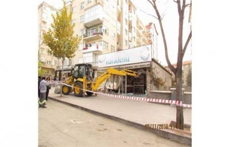 Kırşehir'de ruhsatsız ekmek