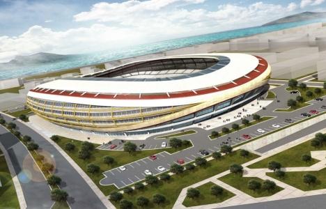 Göztepe Stadı engellere