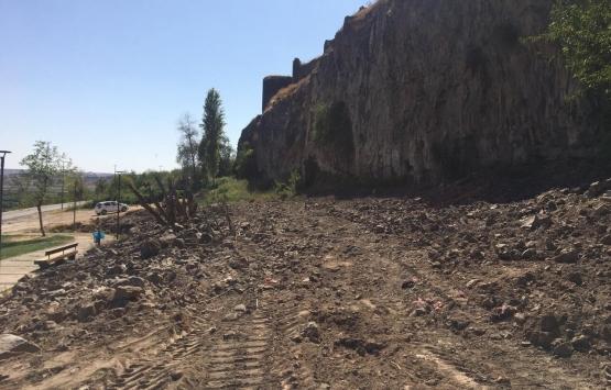 Diyarbakır Sur'da kaçak yapılar ortadan kaldırıldı!