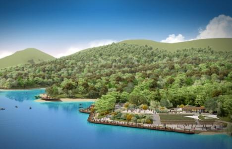 Konya Sille Barajı çevresindeki çalışmalarda sona gelindi!