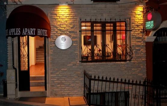 Beyoğlu Three Apples apart otel 6.3 milyon TL'ye icradan satılıyor!