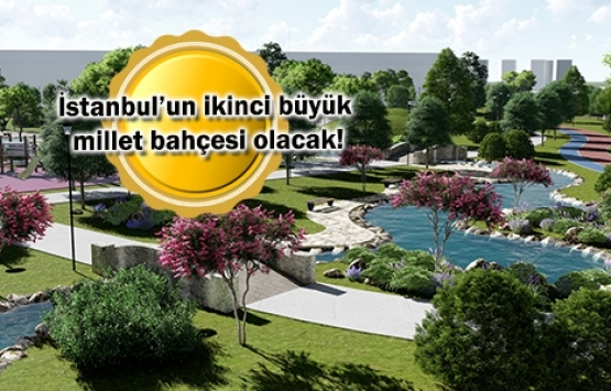 Zeytinburnu Millet Bahçesi'nin inşaatı başlıyor!