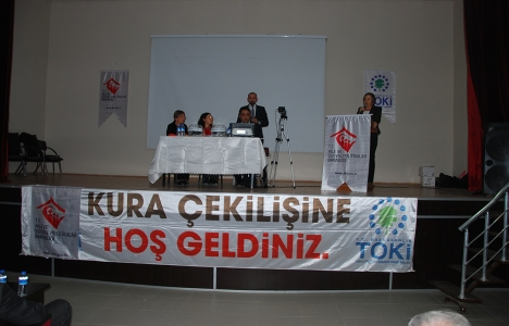 Edirne Meriç'te 94 konutun kurası çekildi!