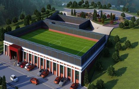 Samsun Tekkeköy Spor Kompleksi'nin kaba inşaatı bitti!