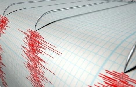Japonya'da deprem nedeniyle