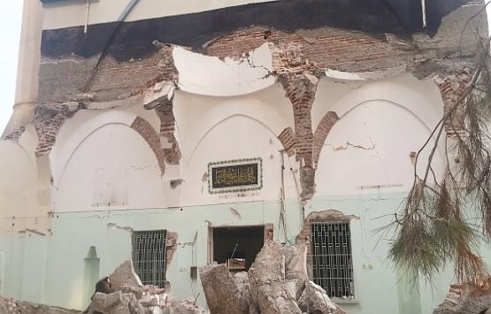 Kernek Camii'nde yıkım