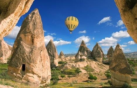 Kapadokya'da konaklama memnuniyeti Barselona'dan yüksek!