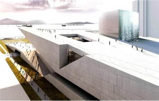 İzmir Opera binasının
