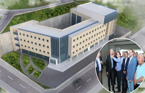 Ordu Turizm Fakültesi inşaatına son sürat devam!