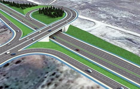 Konya'ya 15 milyon TL'lik köprülü kavşak!