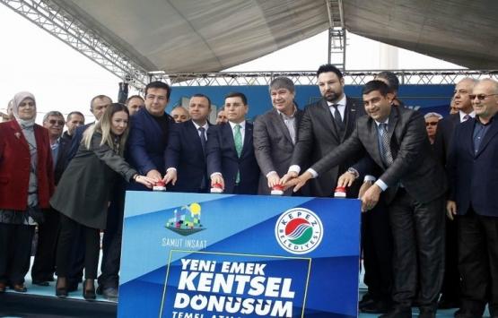 Antalya'da 319 daireli kentsel dönüşümün temeli atıldı!