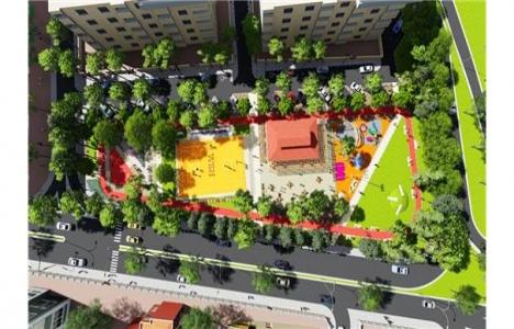 Şehzadeler Gençlik Parkı yeniden düzenleniyor!
