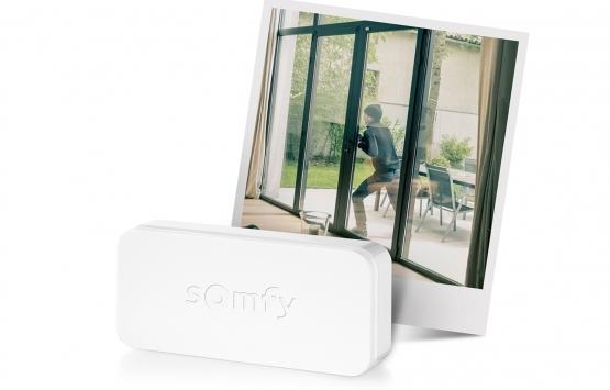 Somfy IntelliTAG kapı dedektörü ile üstün derece ev güvenliği!