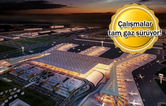 İstanbul Yeni Havalimanı'nda 9 bin sahte yolcu ve 18 bin bagajla test!