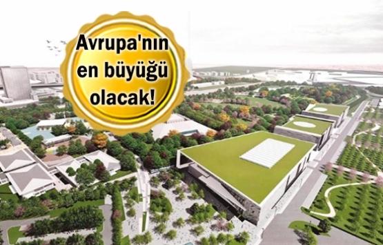 Ankara Millet Bahçesi'ne ilk kazma vuruldu!
