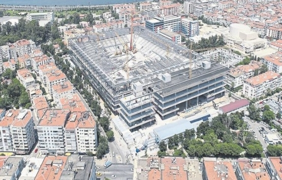 Göztepe Stadı inşaatı tam gaz!