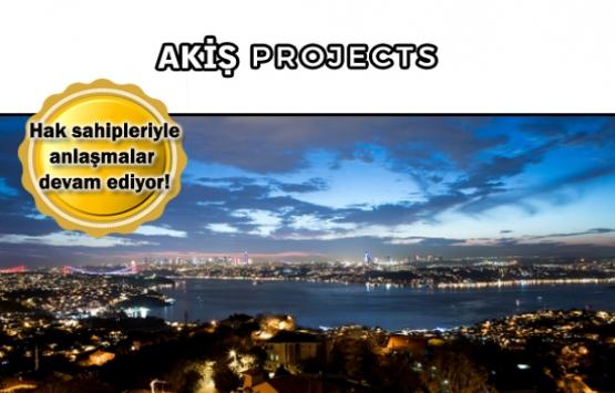 Akiş Projects Beykoz projesi çok yakında satışta!