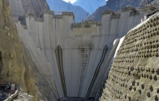 Yusufeli Barajı'nda gövde