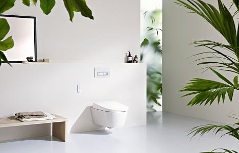 AquaClean otomatik klozet sistemleri ile banyolarda yeni dönem!