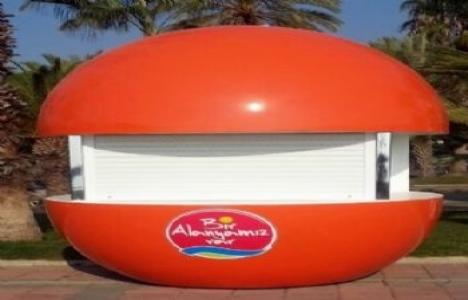 Alanya'ya portakal büfeler geliyor!