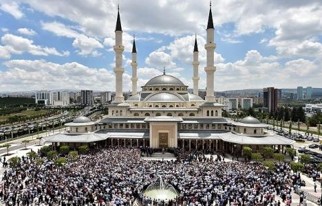Beştepe Millet Cami açıldı!
