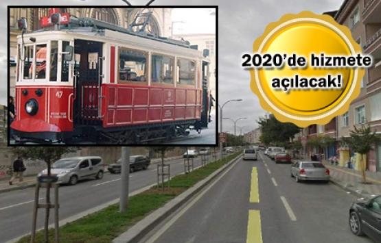 Esenler Nostaljik Tramvay Hattı için düğmeye basıldı!