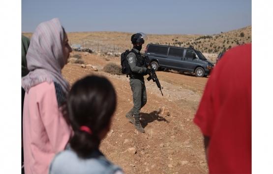 İsrail güçleri işgal altındaki Batı Şeria'da 3 aileyi evsiz bıraktı!