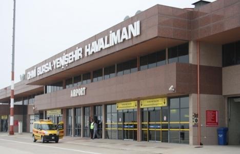 Yenişehir Havalimanı yolcu