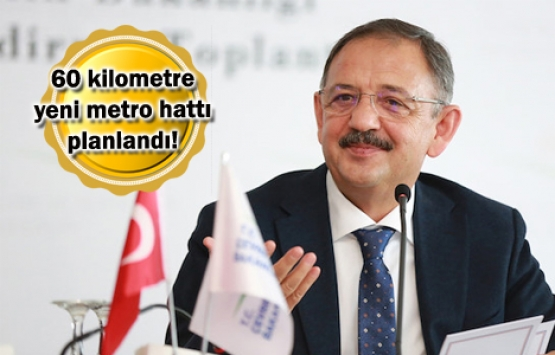 Mehmet Özhaseki: Önceliğimiz Ankara'daki metro sistemini çoğaltmak!