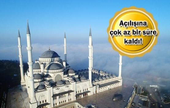 Çamlıca Camii'nde sona gelindi!