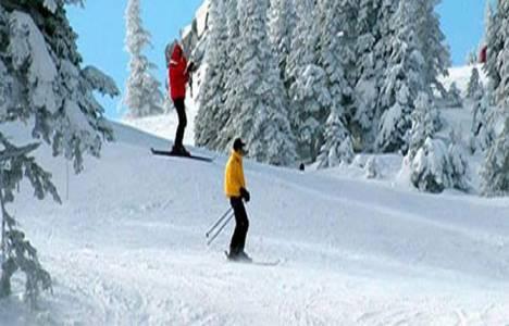 Kartalkaya'da kayak sezonu kapandı!