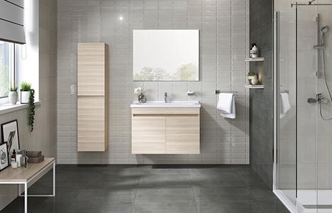 Kale Banyo Krea serisi ile sadelik ve şıklık banyolarınızda!