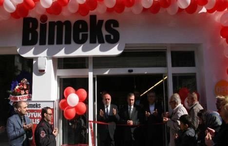 Bimeks, Muğla'daki beşinci mağazasını Bodrum'da açtı!