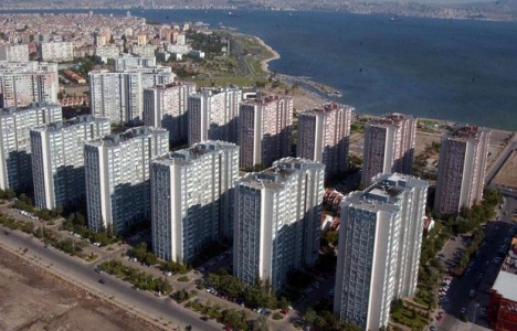 İzmir Mavişehir'de inşaatlar