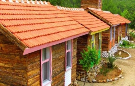 Şumnu'nun Bungalov Evleri ile 12 bin liraya tatil köyü kurulabilecek!