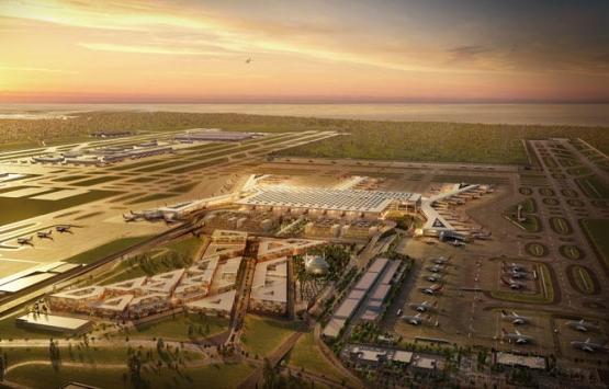 İstanbul Yeni Havalimanı'na