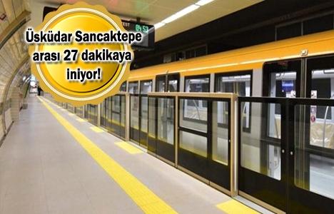 Ümraniye-Sancaktepe Metrosu'nda son