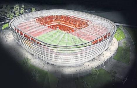 Adana Kozarena Stadı'nın yüzde 32'si tamamlandı!
