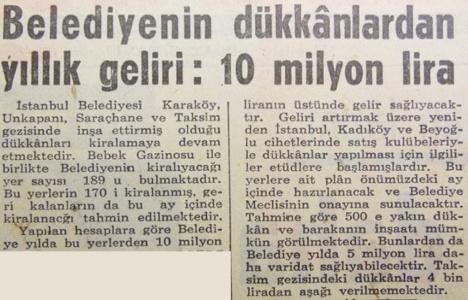 1966 yılında Belediye'nin