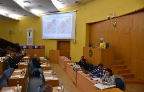 Düzce Belediye Meclisi'nde