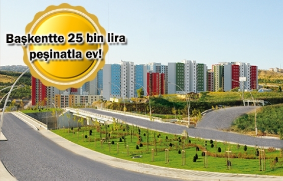 TOKİ Ankara Kuzeykent başvuruları yarın başlıyor!