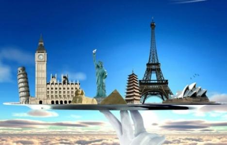 Dünya turizmi yüzde 5 büyüdü!