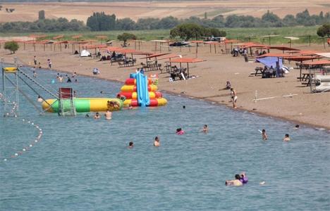 Konya Beyşehir Gölü'ne
