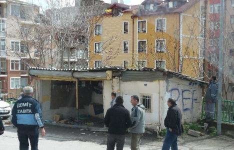 İzmit'te imar yolunda kalan binalar yıkılıyor!