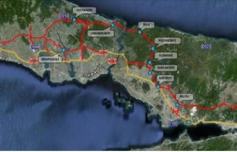 Kuzey Marmara Otoyolu ihalesi 6 Mart'ta!