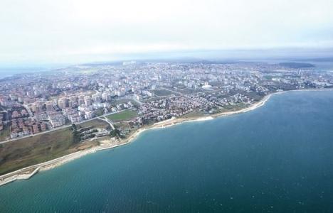 Türk akımı boru hattı projesi için havadan inceleme yapıldı!