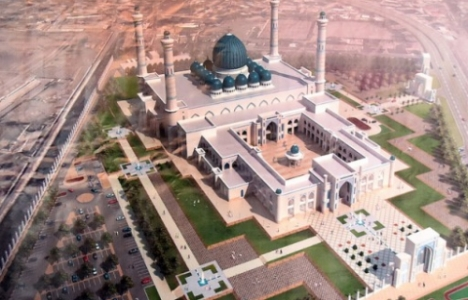 Tacikistan Duşanbe'deki cami 2018 yılında açılacak!