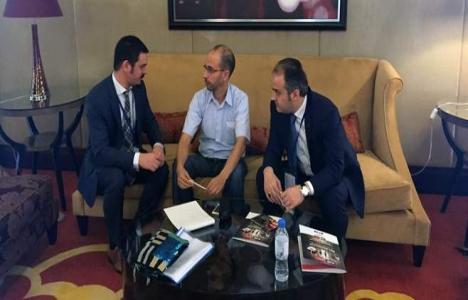 İnegöllü mobilyacılar Dubai'de ticari görüşmeler yapacak!