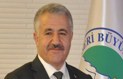 Ahmet Arslan'dan Kayseri'ye