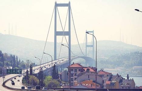 İstanbul Boğaziçi Köprüsü'nün